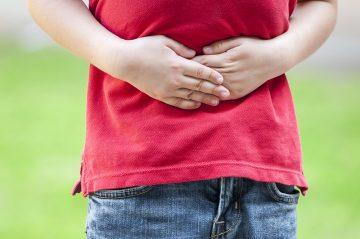 Dolor de barriga niños
